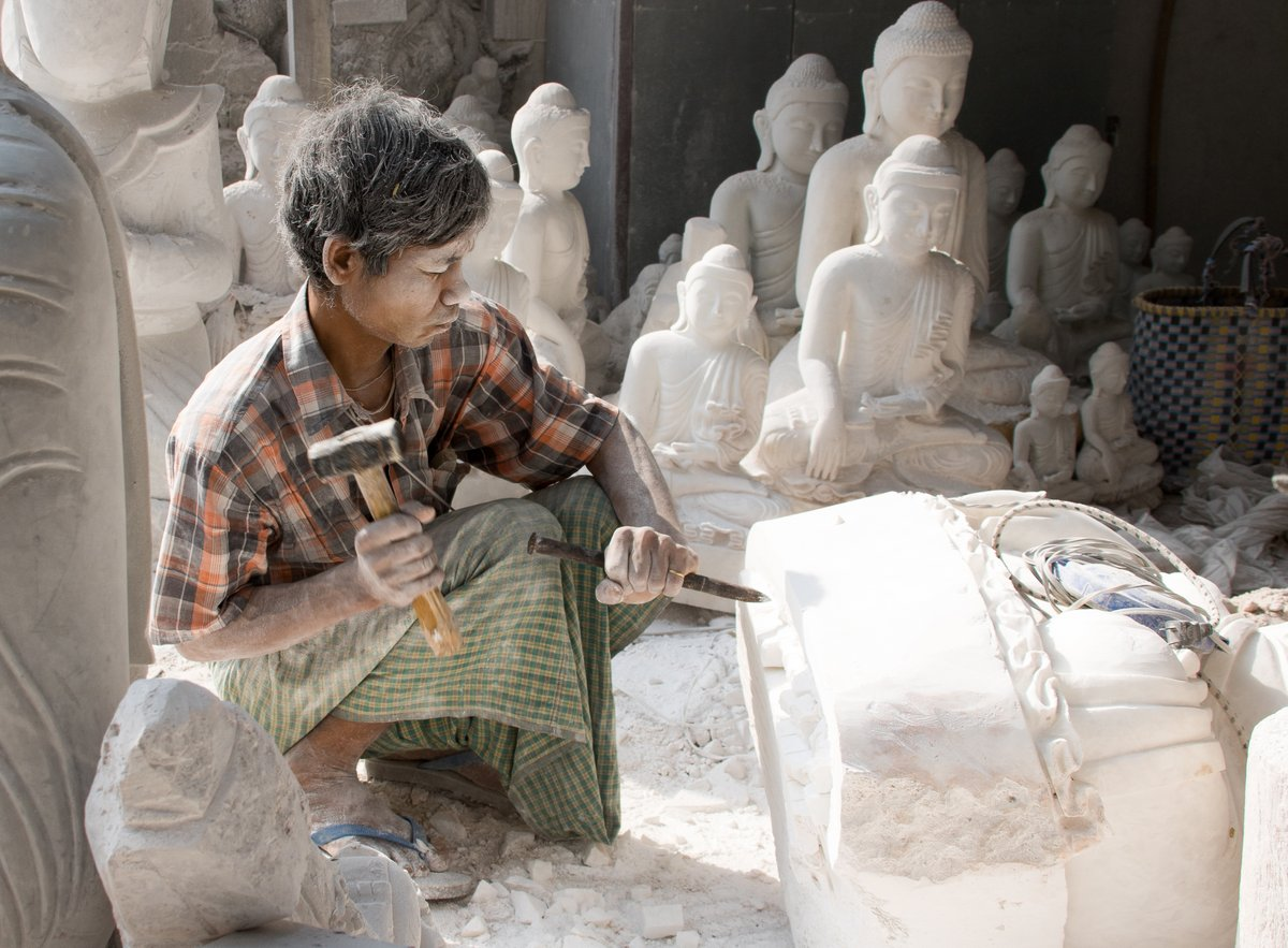 Traditional Stone Carver