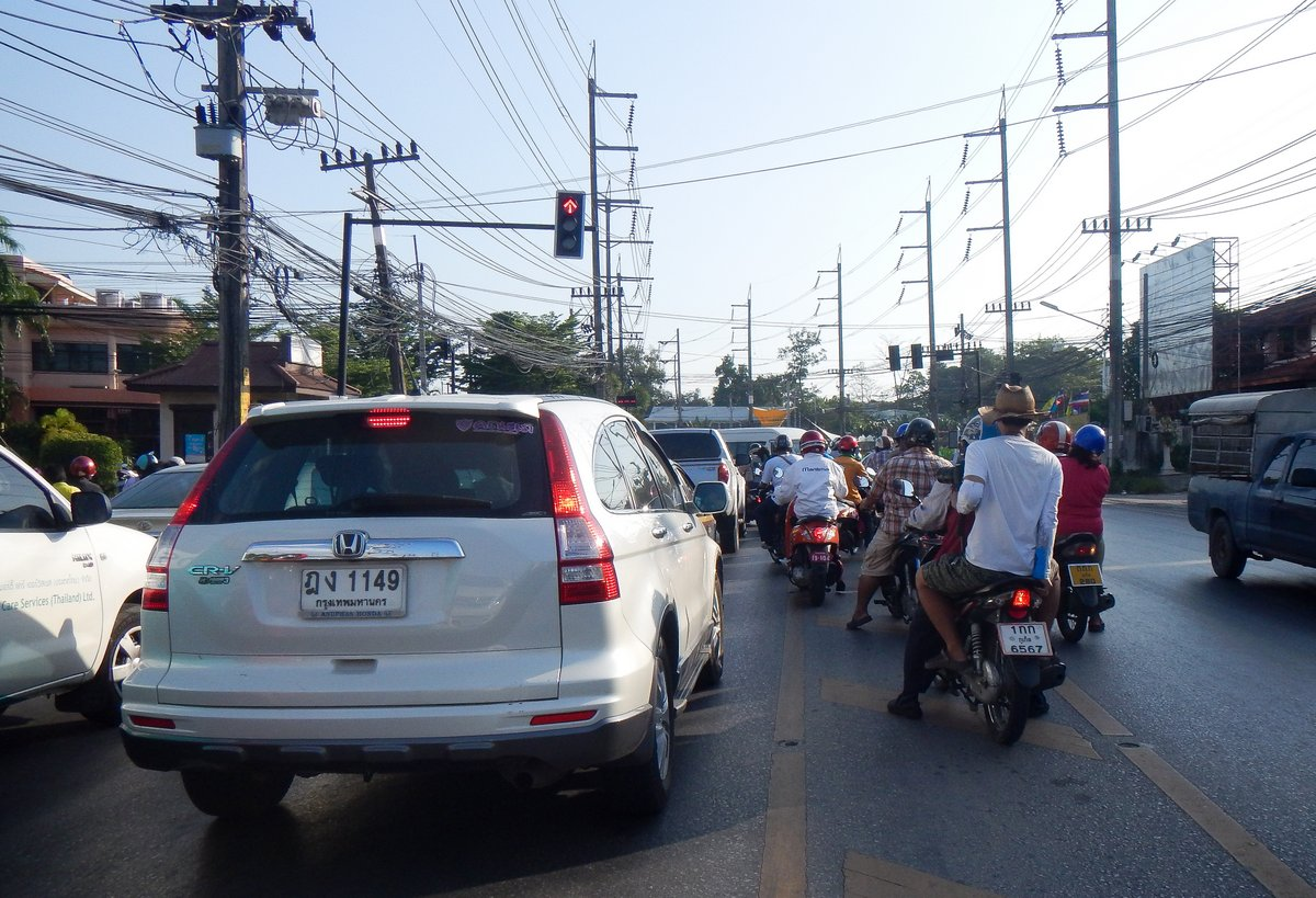 Another day of Thailand Traffic