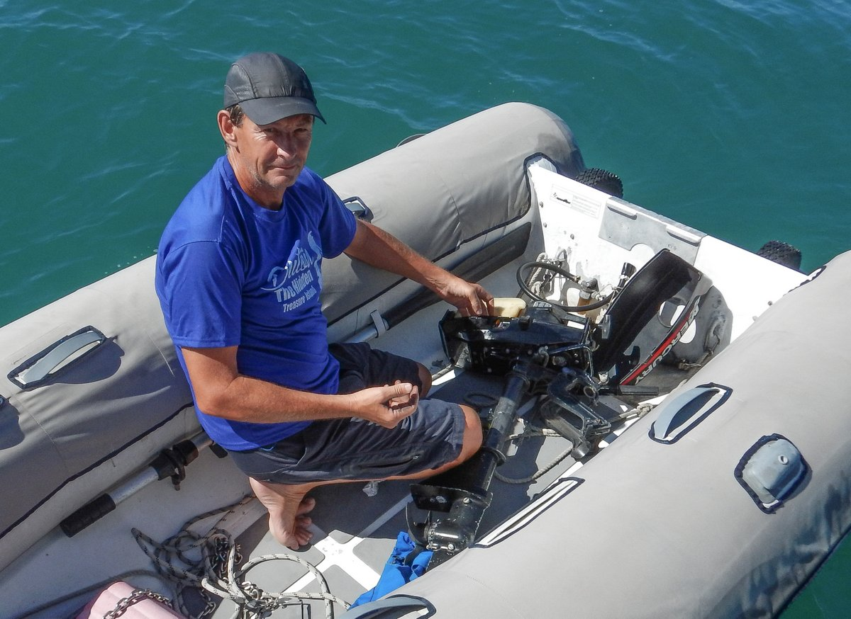Repairing the outboard