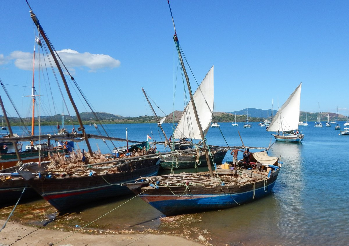 Dhows in Crater Bay