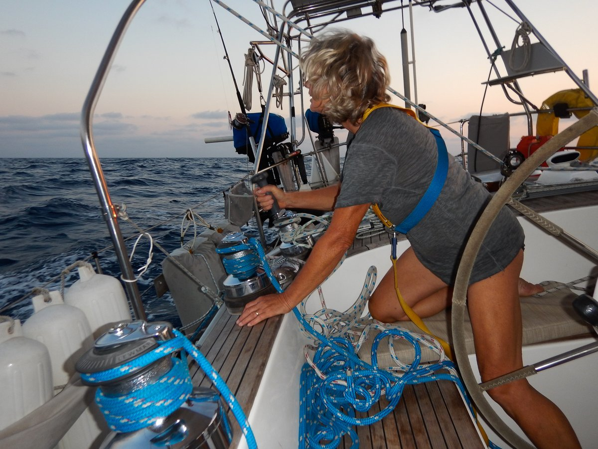 Another Sail Adjustment