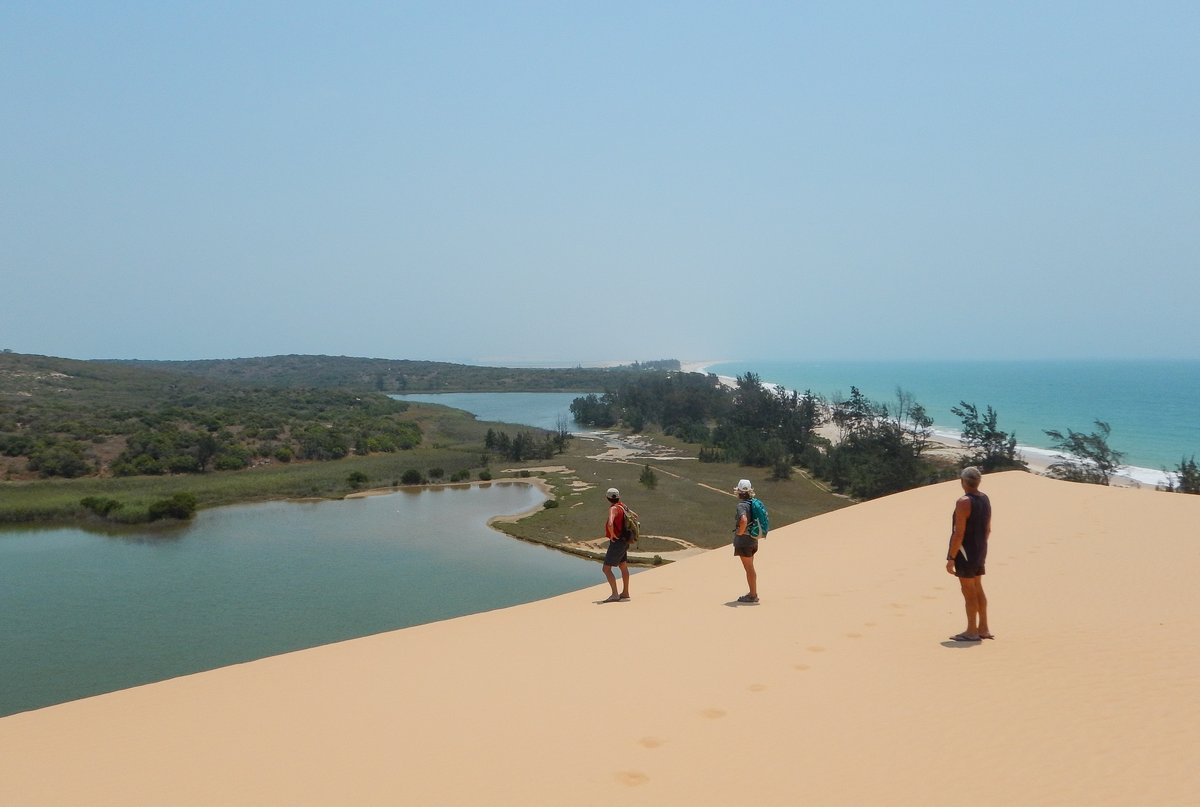 Looking down from Huge Sand Dune