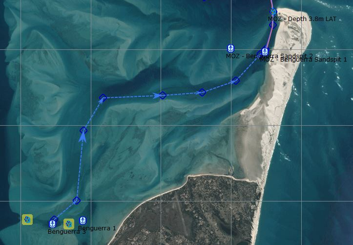 Proposed Route to Sandspit