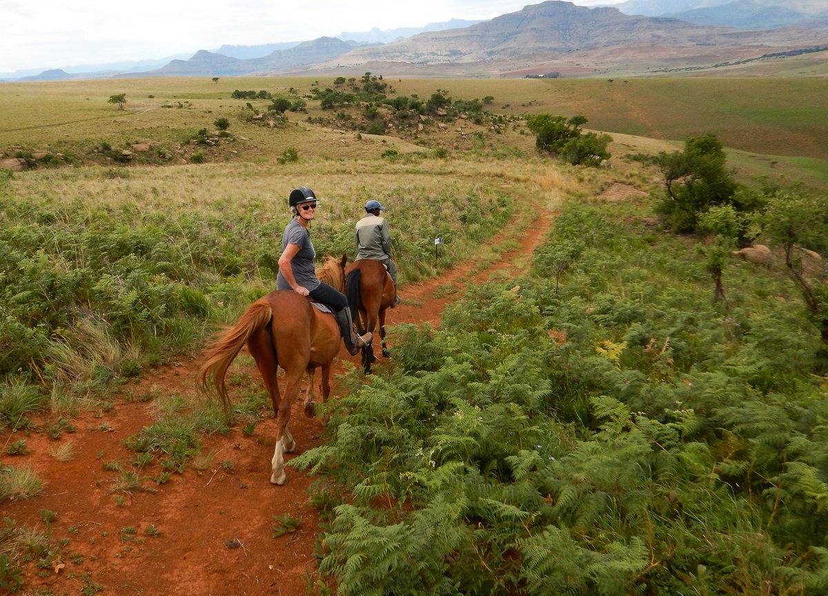 Riding in the Drakensburg