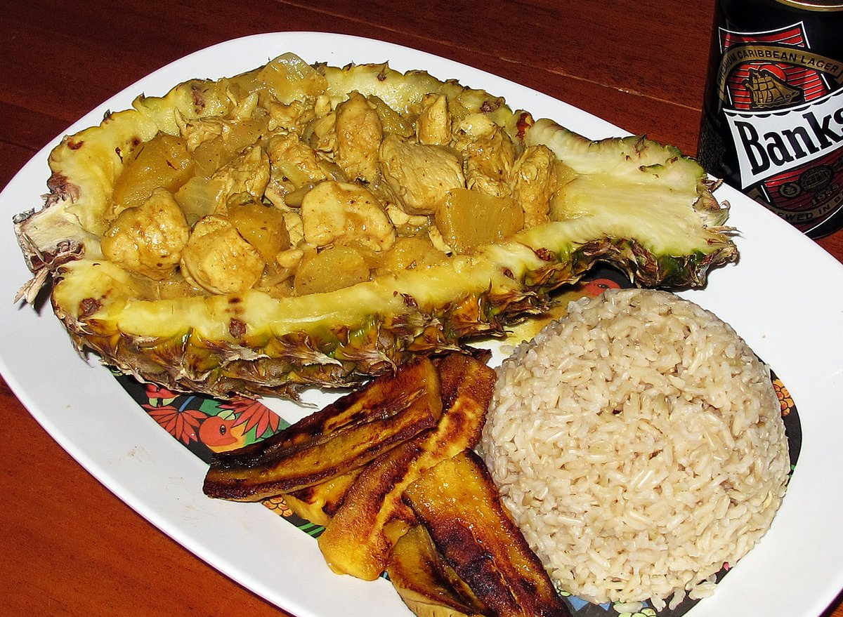 Caribbean Chicken And Pineapple