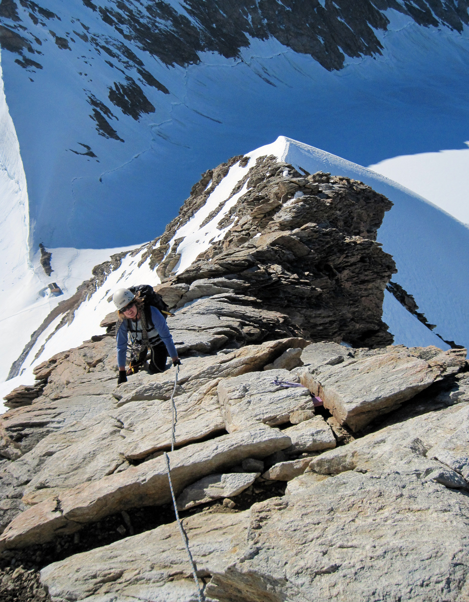 Scrambling in Crampons