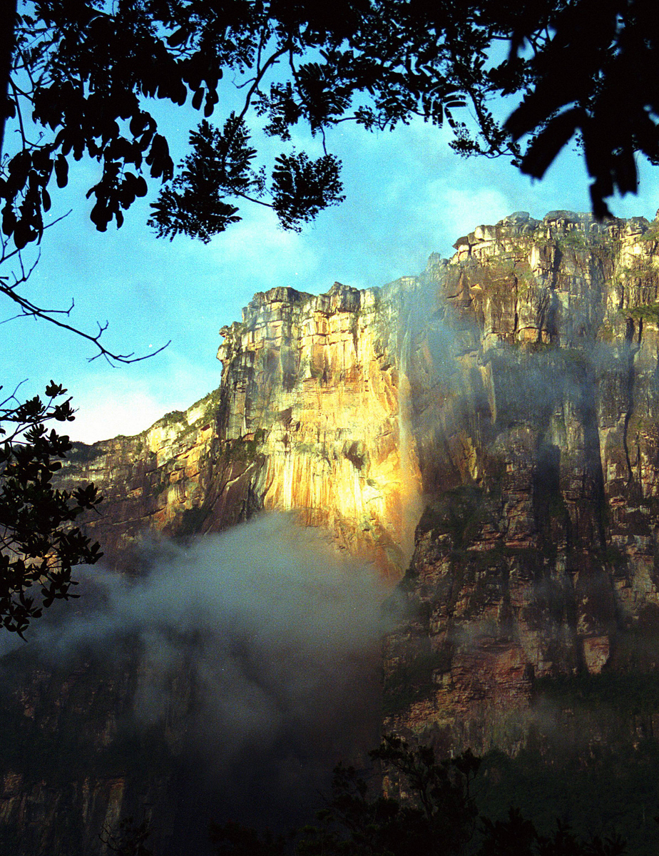 Angel Falls from the Jungle Camp