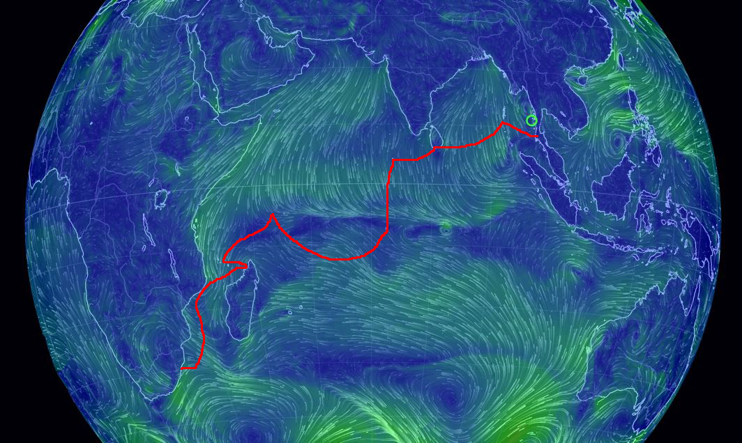 Complex Winds in the Indian Ocean