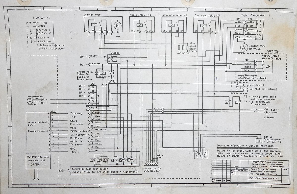 Fault Finding A Generator Wiring Diagram For 2 Way Switch Connecting Portable To